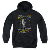 AC/DC Powerage Tour Youth Pullover Hoodie Sweatshirt Black