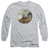 August Burns Red Far Away Places Adult Long Sleeve T-Shirt Silver