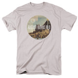 August Burns Red Far Away Places Adult 18/1 T-Shirt Silver