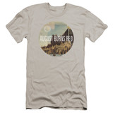 August Burns Red Far Away Places HBO Adult 30/1 T-Shirt Silver
