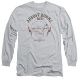 August Burns Red Arrow Skull Adult Long Sleeve T-Shirt Silver