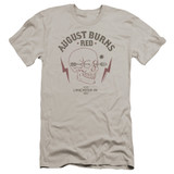 August Burns Red Arrow Skull HBO Adult 30/1 T-Shirt Silver