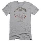 August Burns Red Arrow Skull Adult 30/1 T-Shirt Silver