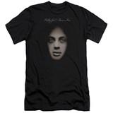 Billy Joel Piano Man Cover Adult 30/1 T-Shirt Black