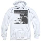 Billy Joel The Stranger Adult Pullover Hoodie Sweatshirt White