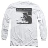 Billy Joel The Stranger Long Sleeve Adult T-Shirt White