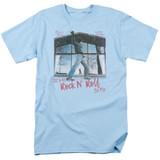 Billy Joel Glass Houses Adult 18/1 T-Shirt Light Blue