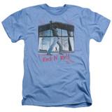 Billy Joel Glass Houses Adult Heather T-Shirt Light Blue