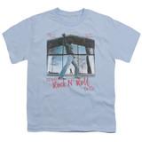 Billy Joel Glass Houses Youth 18/1 T-Shirt Light Blue