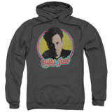 Billy Joel Billy Joel Adult Pullover Hoodie Sweatshirt Charcoal