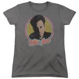 Billy Joel Billy Joel Women's T-Shirt Charcoal