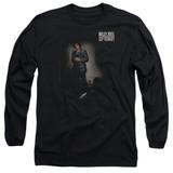 Billy Joel 52nd Street Long Sleeve Adult T-Shirt Black