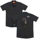 Billy Joel 52nd Street (Back Print) Adult Work Shirt Black