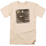 Billy Joel An Innocent Man Adult 18/1 T-Shirt Cream