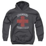 Bon Jovi Bad Medicine Youth Pullover Hoodie Sweatshirt Charcoal