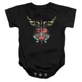 Bon Jovi Daggered Baby Onesie T-Shirt Black