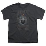 Bon Jovi Keep The Faith Youth 18/1 T-Shirt Charcoal