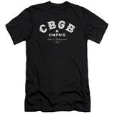 CBGB Classic Logo Adult 30/1 T-Shirt Black