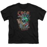 CBGB City Mowhawk Youth T-Shirt Black