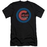 Cheap Trick Cheap Cub Adult 30/1 T-Shirt Black