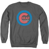 Cheap Trick Cheap Cub Adult Crewneck Sweatshirt Charcoal