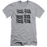 Cheap Trick Cheap Trick Logo Adult 30/1 T-Shirt Athletic Heather