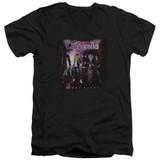 Cinderella Night Songs Adult V-Neck T-Shirt Black