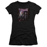 Cinderella Night Songs Junior Women's Sheer T-Shirt Black