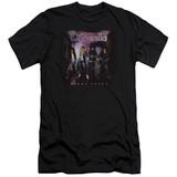 Cinderella Night Songs Adult 30/1 T-Shirt Black