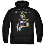 David Gilmour Guitar Gilmour Adult Pullover Hoodie Sweatshirt Black