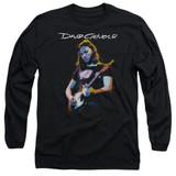 David Gilmour Guitar Gilmour Adult Long Sleeve T-Shirt Black