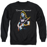 David Gilmour Guitar Gilmour Adult Crewneck Sweatshirt Black