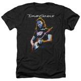 David Gilmour Guitar Gilmour Adult Heather T-Shirt Black