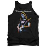 David Gilmour Guitar Gilmour Adult Tank Top T-Shirt Black