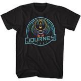 Journey Journey '81 Black Adult T-Shirt