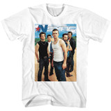 NSYNC NSYNC White Adult T-Shirt
