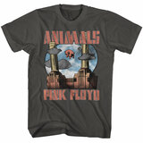 Pink Floyd Animals Smoke Adult T-Shirt