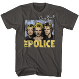 The Police Every Breath Smoke Adult T-Shirt