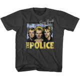The Police Every Breath Black Heather Toddler T-Shirt