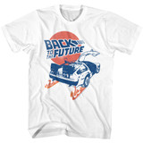 Back To The Future BTTF White T-Shirt