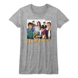Can't Hardly Wait Group Photos Gray Heather Junior Women's T-Shirt