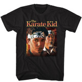 Karate Kid Daniel And Miyagi Black T-Shirt