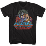 Masters Of The Universe Register Black T-Shirt