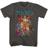 Masters Of The Universe The Whole Gang Smoke T-Shirt
