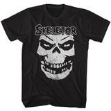 Masters Of The Universe Skeletor Face Black T-Shirt