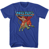 Masters Of The Universe Ride Into Battle Royal T-Shirt