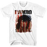 Rambo Merica White T-Shirt
