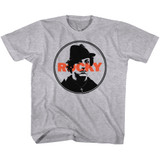 Rocky Stamped Gray Heather Youth T-Shirt