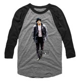 Rocky Million To One Gray Heather/Vintage Smoke Adult Baseball Raglan T-Shirt