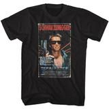 Terminator VHS Black T-Shirt